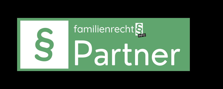 Familienrechtsinfo.at Partnersiegel dunkel