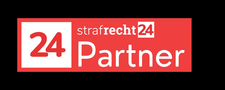 Strafrecht24.at Partnersiegel Dunkel